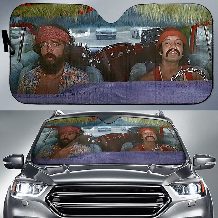 200603205ADS Cheech & Chong Car Sunshade
