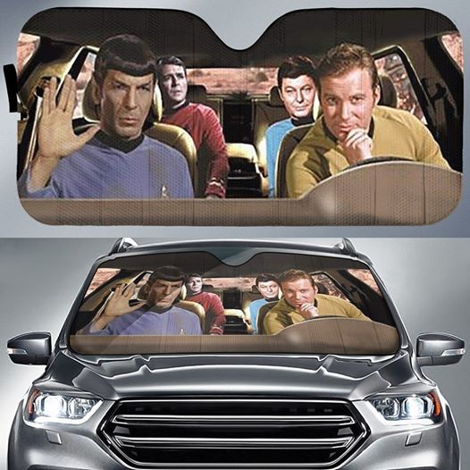 Star Trek Car Sunshade