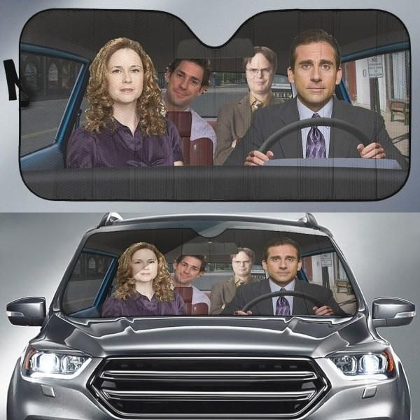 The Office TO Car Sun Shade