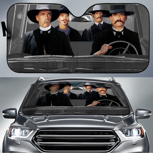 Tombstone Car Sunshade