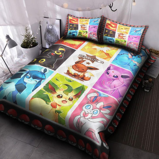 Eeveelutions HPV1101P Quilt Bed Set