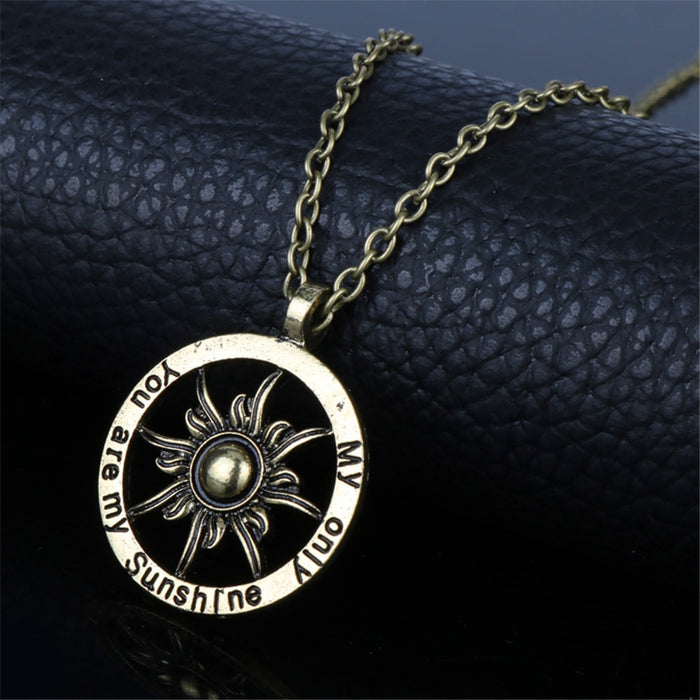 Copy of You Are My Sunshine Necklace