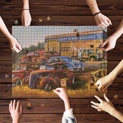 Rusty Salvage Jigsaw Puzzle
