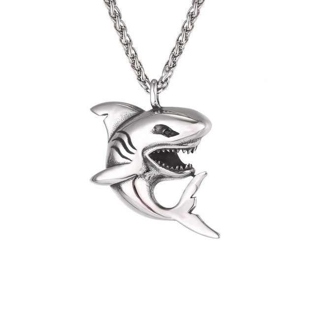 Shark Pendant Necklace