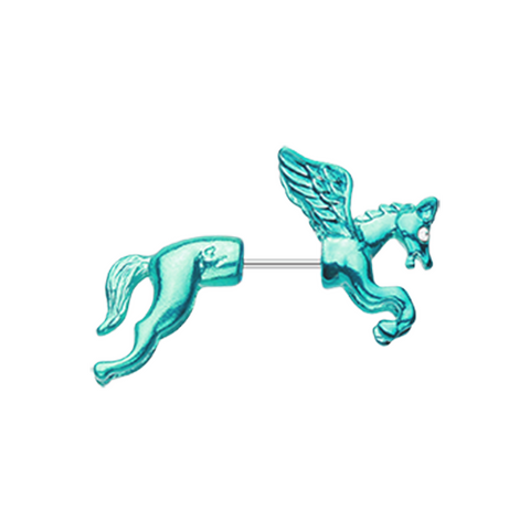 Colorline Pegasus Fake Taper Earring Body Jewelry 20ga - BodyDazzle