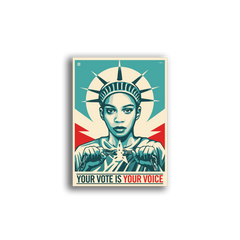 Sticker Packs: Your Vote Is Your Voice