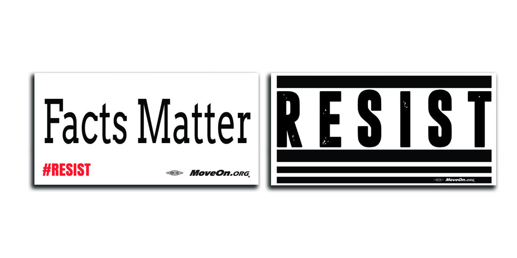 50 Resist / 50 Facts Matter