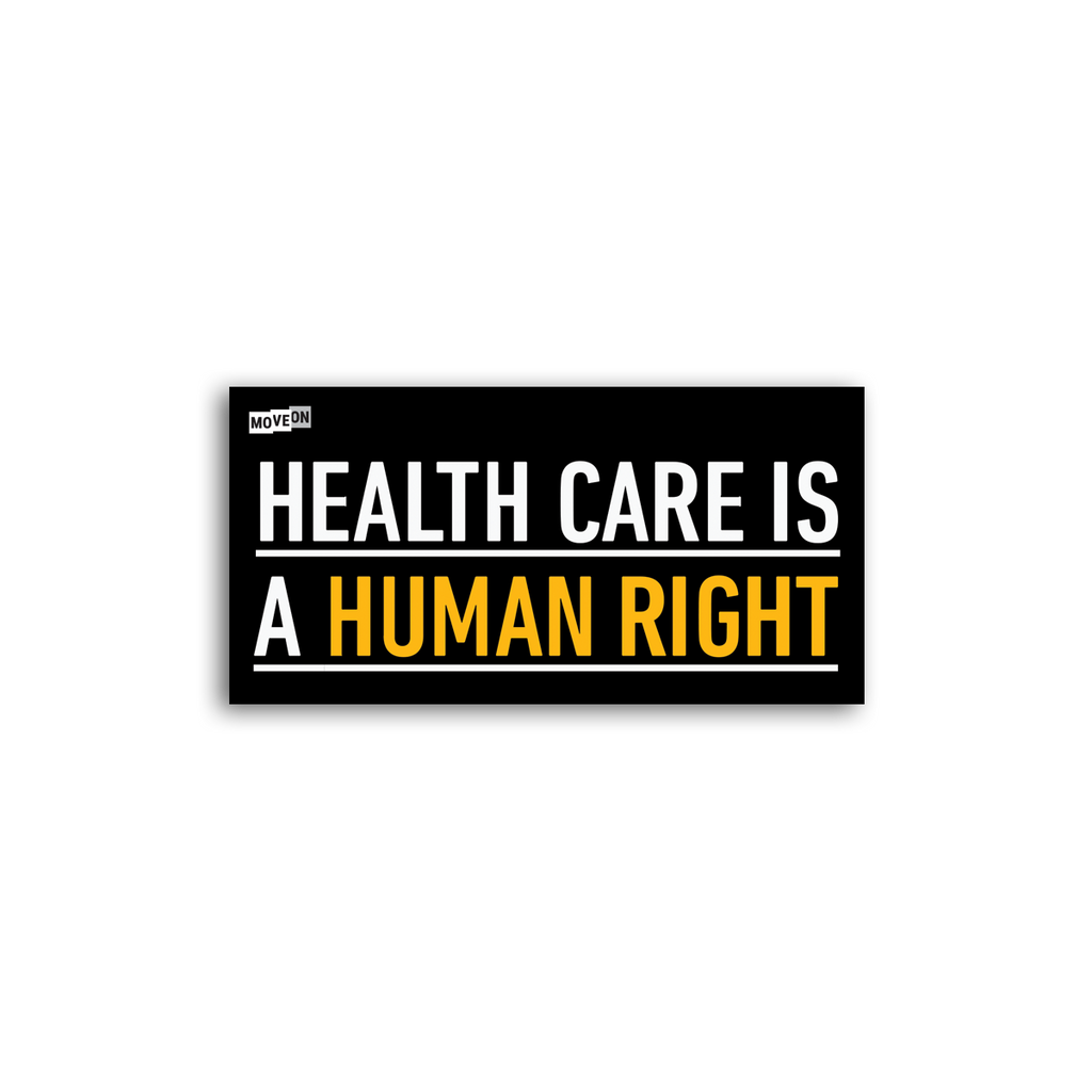 Sticker Packs:  Health Care Is a Human Right