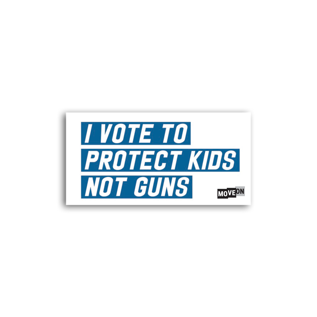 Sticker Packs:  Protect Kids, Not Guns
