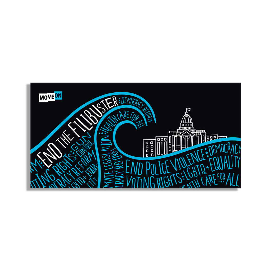 Sticker Packs: End the Filibuster