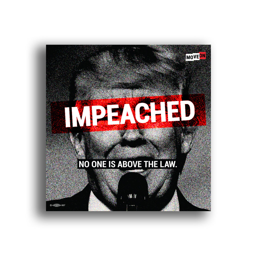 Sticker Packs: Impeached - No One is Above the Law