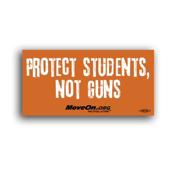 Sticker Packs: Protect Students, Not Guns