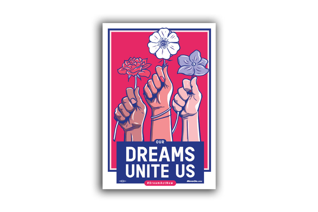 Sticker Packs: Stand Up for Dreamers