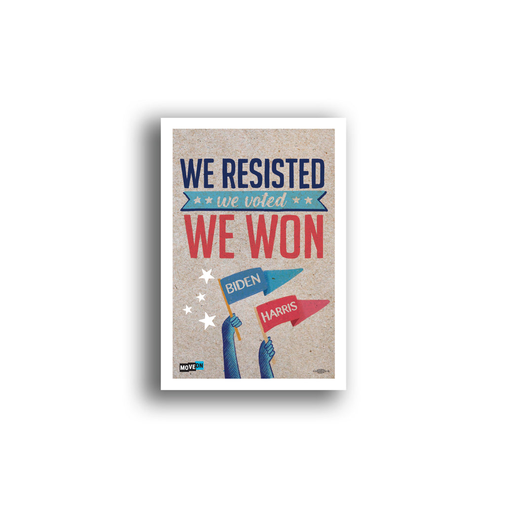 Sticker Packs: We Resisted, We Voted, We Won!