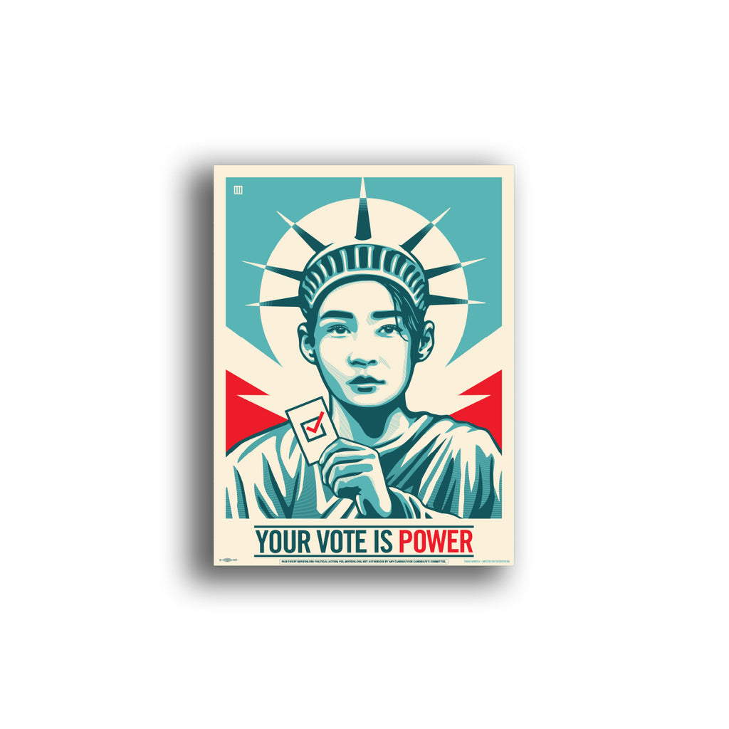Poster: Your Vote Is Power