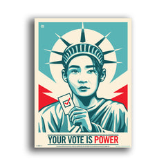 Poster Four-Pack: Your Vote Is Power