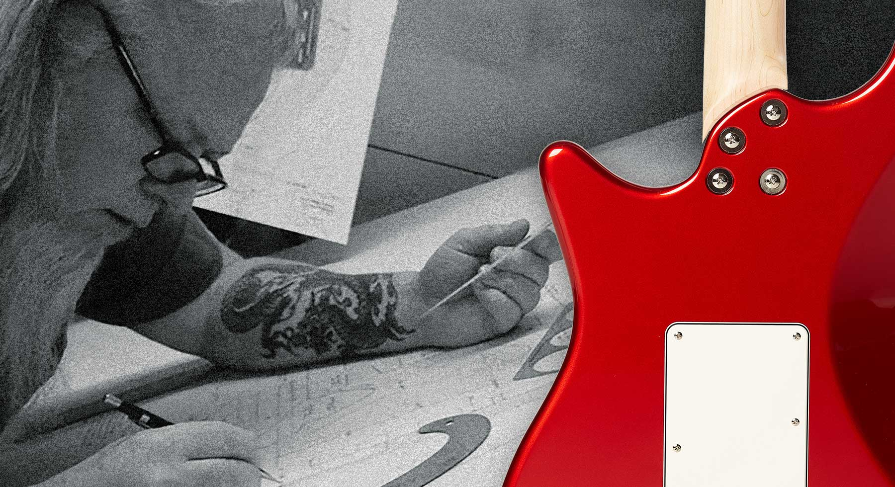 What makes your forever guitar? Explore the custom design genius of John Page