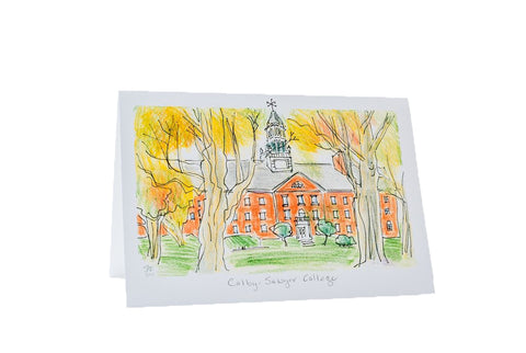 Colgate Hall Notecard, single