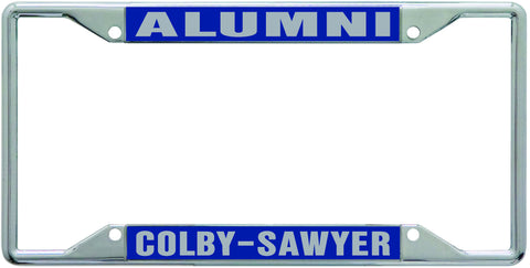 License Plate Frame: Colby-Sawyer Alumni