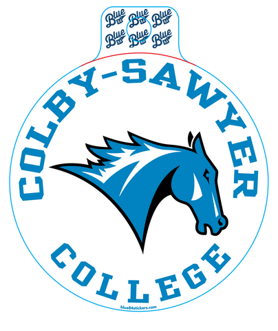 Colby-Sawyer Charger Sticker