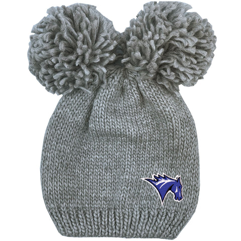 Leia Double Pom Knit Hat Hat
