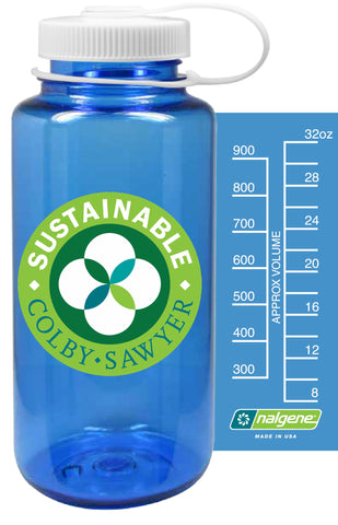 Sustainable Colby-Sawyer Nalgene Waterbottle