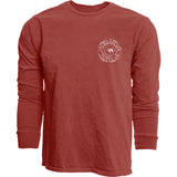 Dyed Ringspun Long-Sleeve Tee