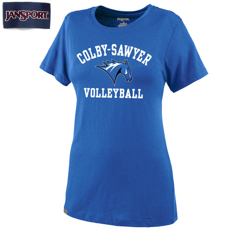 Colby-Sawyer Women's Volleyball T-Shirt