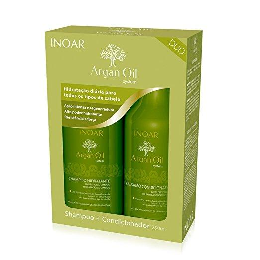 Inoar Argan Oil Duo Kit