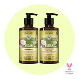 Inoar Vegan Shampoo and Conditioner Kit - Free Vegan Mask with purchase!