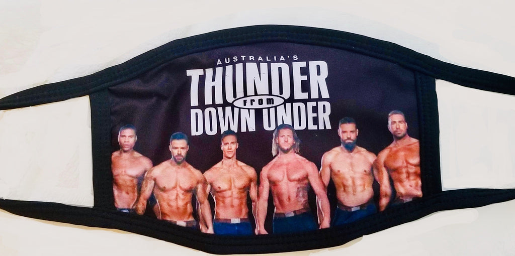 Thunder From Down Under Mask