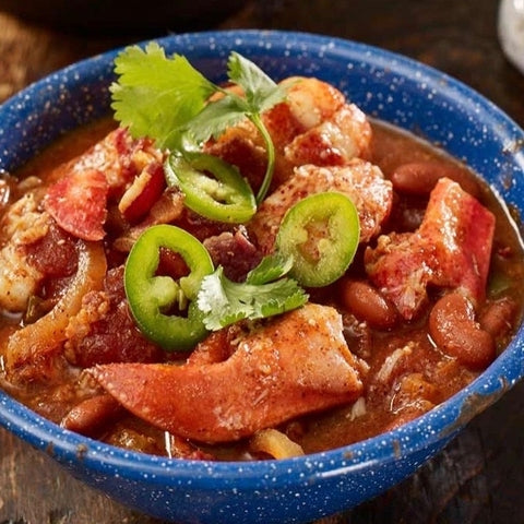 Southwestern Smoked Maine Lobster Chili Recipe