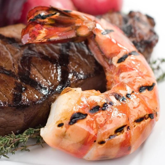 Shrimp Surf and Turf