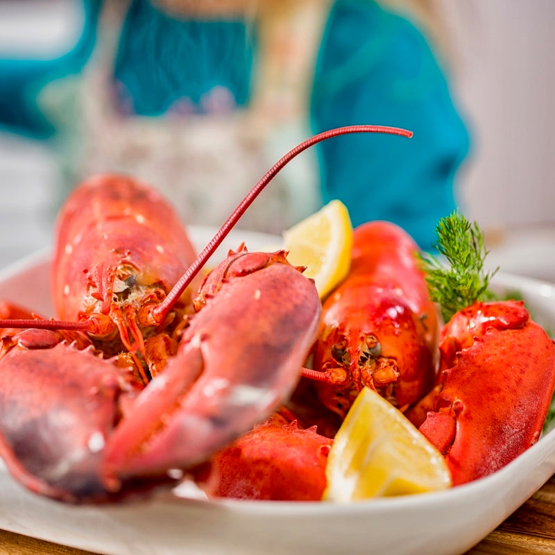 Twin Lobster Dinner For Two Live Lobster For Two Twin