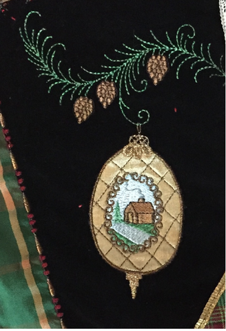 Cabin in the Woods Ornament