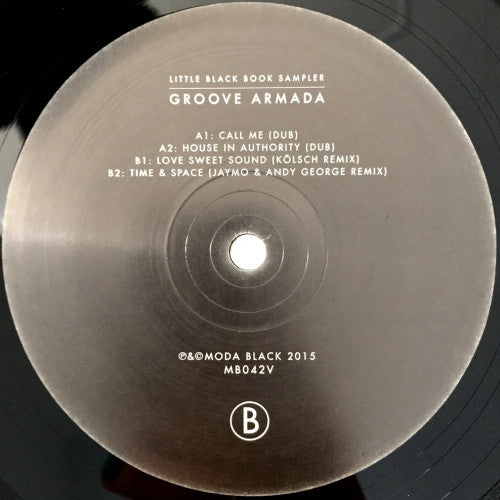 "Groove Armada: Little Black Book - 12"" Sampler + WAVS"