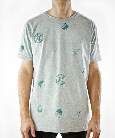 Moda Black: Sporadic Shapes Tee