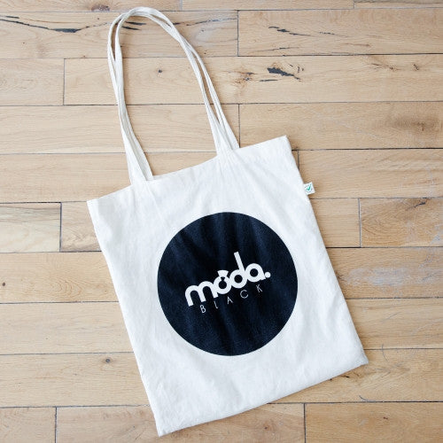 Moda Black Tote Bag
