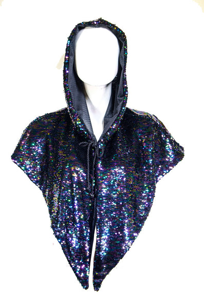 Fuud Sequin Cape (various colours)
