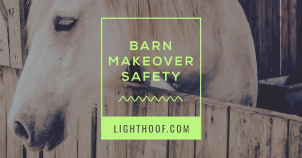 How To Avoid Hazards for Horses and Humans During Your Barn and Paddock Remodel