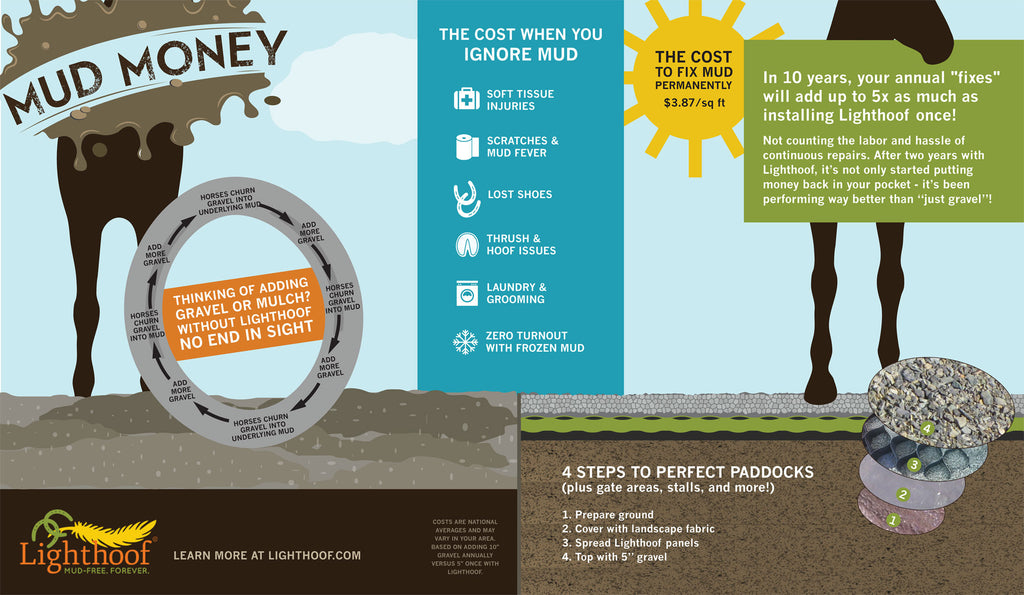 Mud Money Infographic