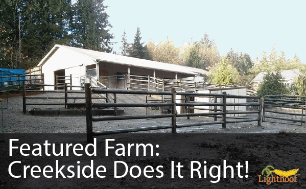 Featured Farm: Creekside Shows How to Git'er Done... Mud Free!