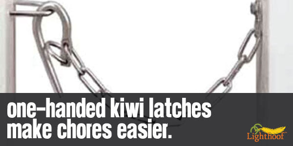 Kiwi Latches Make Horse Farm Life a Little Easier