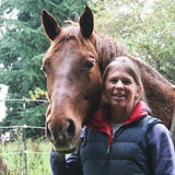 Carrie Miller of Miller Farm Sporthorses loves Lighthoof mud management panels to solve difficult mud problems.