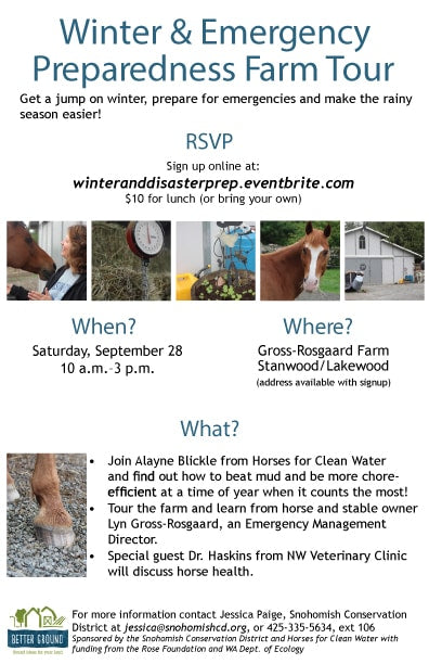 Winter and Emergency Preparedness Farm Tour