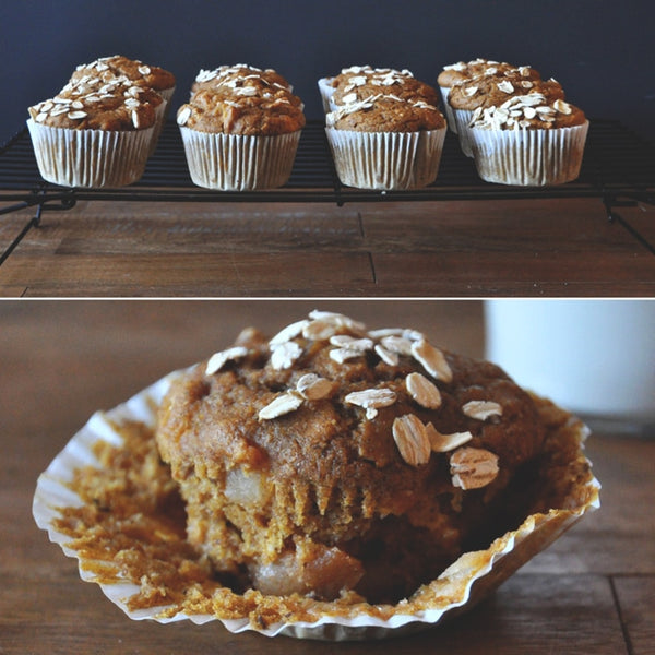 Bake apple pumpkin muffins for your horse this fall with this easy recipe.