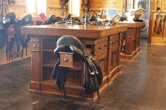 Maintaining a clean tack room is simple once the major cleaning has been completed.