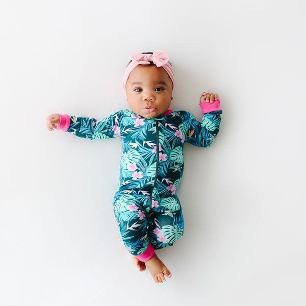 Lola & Taylor - Tropical Nights Infant Romper Romper Lola & Taylor