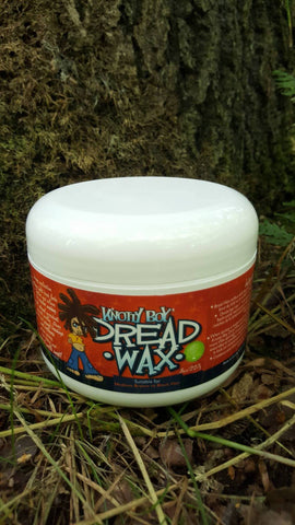 Knotty Boy Dread Wax 8oz Dark Main