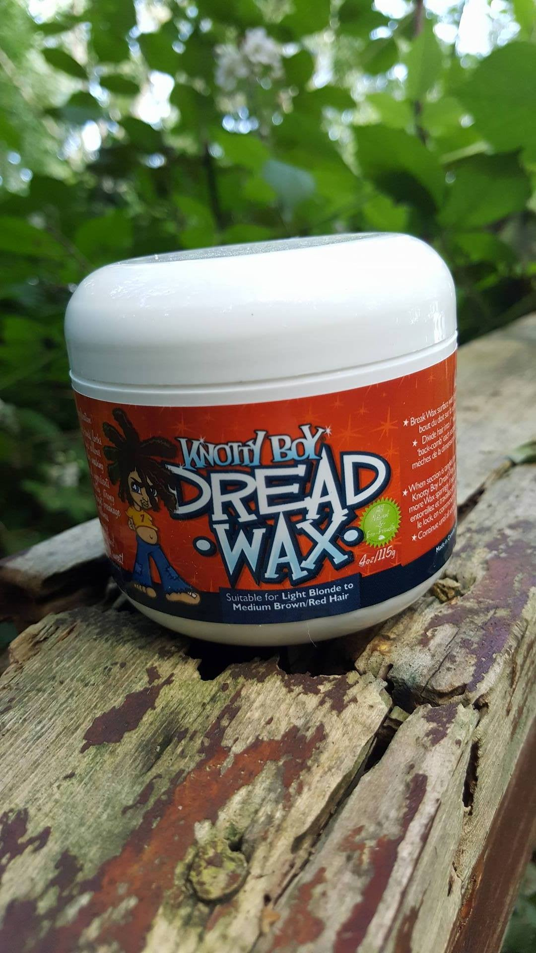 Knotty Boy Dread Wax 4oz Light Main